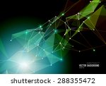 vector abstract geometric... | Shutterstock .eps vector #288355472