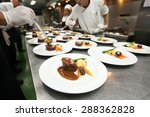 chef in hotel or restaurant... | Shutterstock . vector #288362828