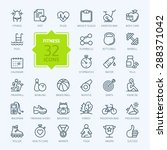 outline web icon set   sport...