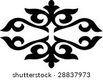ornate pattern | Shutterstock .eps vector #28837973