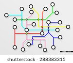conductor path or operating... | Shutterstock . vector #288383315