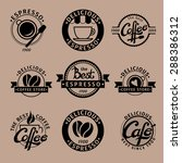 a set of hipster icons for... | Shutterstock .eps vector #288386312