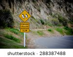 penguins crossing | Shutterstock . vector #288387488