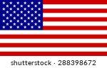 american flag | Shutterstock .eps vector #288398672