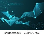 abstract and communication... | Shutterstock .eps vector #288402752