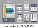 design of flyers  brochures and ... | Shutterstock .eps vector #288412952