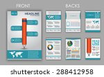 design of flyers  brochures and ... | Shutterstock .eps vector #288412958