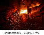 Steel Factory  Melting Iron