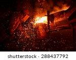 Steel Factory  Melting Iron