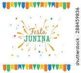 latin american holiday festa... | Shutterstock .eps vector #288459836