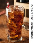 refreshing bubbly soda pop with ... | Shutterstock . vector #288476972