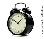 alarm clock isolated on a white | Shutterstock . vector #28850765