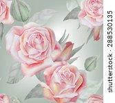 Watercolor Flowers  Roses ...