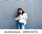 young girl | Shutterstock . vector #288533276