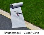 artificial grass turf... | Shutterstock . vector #288540245