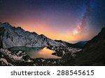 hills around gosaikunda lake  4 ... | Shutterstock . vector #288545615