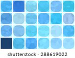 bright abstract mosaic blue...   Shutterstock . vector #288619022