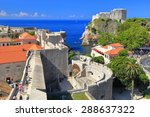 strong walls and bastion... | Shutterstock . vector #288637322