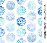 vector seamless pattern with... | Shutterstock .eps vector #288690815