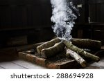 Indoor Firewood And Smoke For...