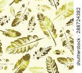 crazy beautiful imprint... | Shutterstock .eps vector #288724382
