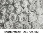 white roses background | Shutterstock . vector #288726782