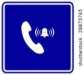 Telephone Ring Sign