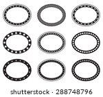 set of empty blank vintage... | Shutterstock .eps vector #288748796