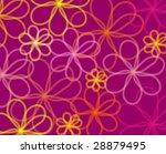 background with summer flower   Shutterstock . vector #28879495