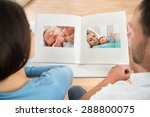 close up of couple looking at... | Shutterstock . vector #288800075