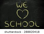 illustration with writing we... | Shutterstock . vector #288820418