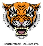 an illustration of a mean... | Shutterstock . vector #288826196