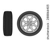 vector illustration of car... | Shutterstock .eps vector #288866405