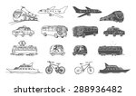 hand drawn collection of...   Shutterstock .eps vector #288936482