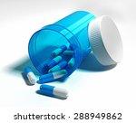 pharmacology.  opened blue... | Shutterstock . vector #288949862