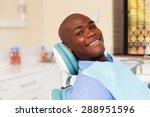 african man visiting dentist... | Shutterstock . vector #288951596