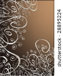 floral background for text   Shutterstock .eps vector #28895224