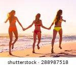 beach  party  summer. | Shutterstock . vector #288987518