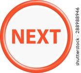 button next. the round shape.... | Shutterstock .eps vector #288988946
