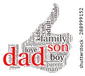 family info text graphics and... | Shutterstock .eps vector #288999152