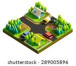 green earth concept in... | Shutterstock . vector #289005896