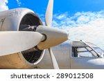 engine and propeller closeup... | Shutterstock . vector #289012508