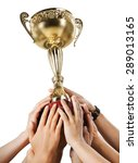 trophy  winning  success. | Shutterstock . vector #289013165