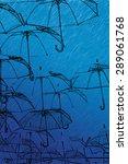 sketch umbrella | Shutterstock . vector #289061768