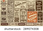 mega pack old advertisement... | Shutterstock .eps vector #289074308