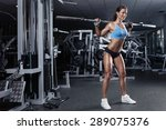 beautiful sporty sexy woman...   Shutterstock . vector #289075376