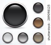 set of buttons | Shutterstock .eps vector #289098125
