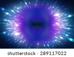 abstract multicolored fractal... | Shutterstock . vector #289117022