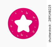 water drops on button. star...