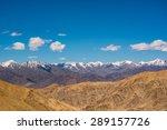 Mountain Range In Leh Ladakh...